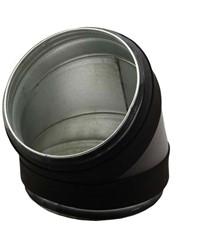 Thermoduct bocht 45 graden diameter 315 mm