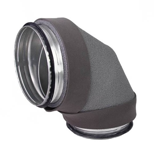 Thermoduct bocht 90 graden diameter 400 mm