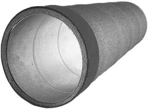 Thermoduct buis 125mm L=2000mm