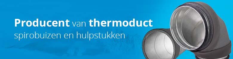De thermoduct geïsoleerde spirobuizen zijn dé perfecte kanalen voor ieder WTW systeem.