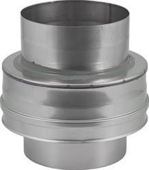 DW Ø 100 mm (100/150) Topstuk EW I316L/I304 (D0,5/0,6)