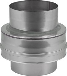 DW diameter 150 mm (150/200) Topstuk EW I316L/I304 (D0,5/0,6)