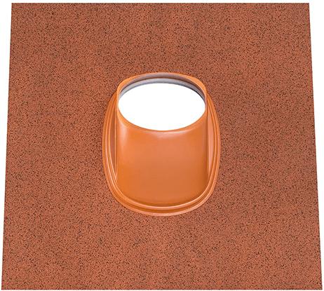 Ubbink dakpan Ubiflex Universeel 25-45 graden terracotta - doorsnede 125-131