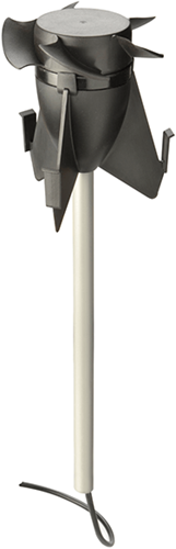 Ubbink Hybride ventilator Ø 131mm voor multivent dakdoorvoer