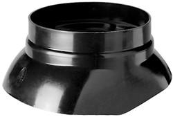 Ubbink schaal voor MultiVent 166 / Ventub 166 - zwart