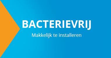 Het antibacteriele en eenvoudige luchtverdeelsysteem inclusief alle hulpstukken is voordelig verkrijgbaar bij Ventilatieland