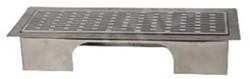 Uniflexplus ventilatie instelbaar vloerrooster met sleuven Wit