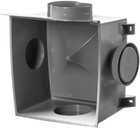 Vasco C400 Basic RF 400m3/h + RFT bediening - randaarde stekker-3