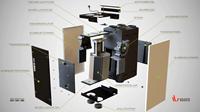 Vasco WTW-unit DX4 - 400m³/h - inclusief draadloze bediening-3