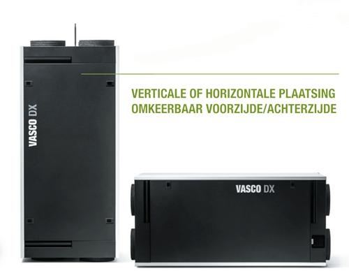 Vasco WTW-unit DX4 - 400m³/h - inclusief draadloze bediening-2