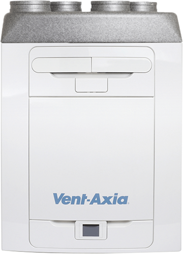 Vent-Axia WTW Sentinel Kinetic Advance 350SX inclusief voorverwarmer - Links - 350m³/h