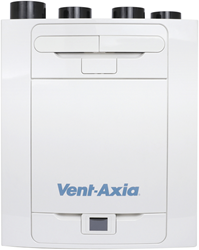 Vent-Axia WTW Sentinel Kinetic Advance 350SX inclusief voorvewarmer - Links - 350m³/h