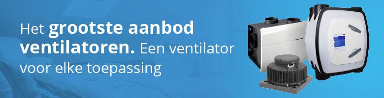 Ruim assortiment energiezuinige ventilatoren voor elke toepassing