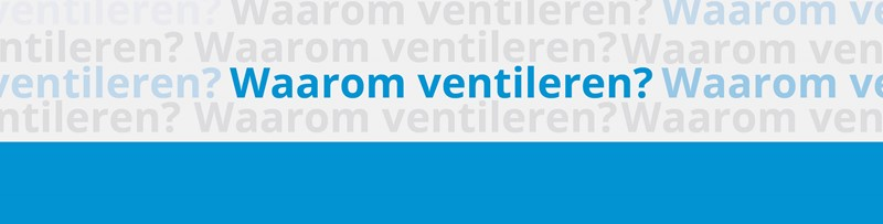 Waarom is ventileren belangrijk?