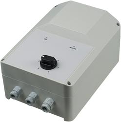 5-stappen transformator MONOFASIG 1,5 A incl. thermocontactbeveiliging en gasklepsturing