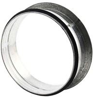 Vlakke aftakking 90° diameter Ø 100mm tbv spiro buis-1