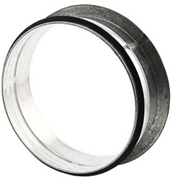 Vlakke aftakking 90° diameter Ø 125mm tbv spiro buis