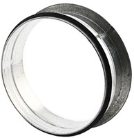 Vlakke aftakking 90° diameter Ø 160mm tbv spiro buis-1