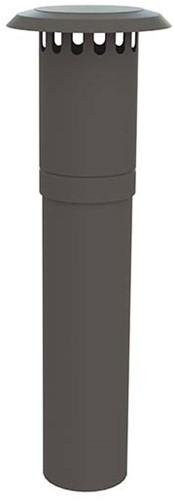 WTW HR dakdoorvoer Thermoduct geisoleerd 250mm