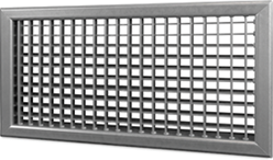 Wandrooster B-2-1 1000x150-H instelbaar