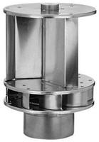 Windgedreven ventilator Savonius 150mm aluminium - 72m3/h-1