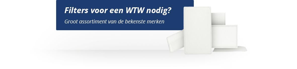 WTW filters, ruim assortiment van bekende merken