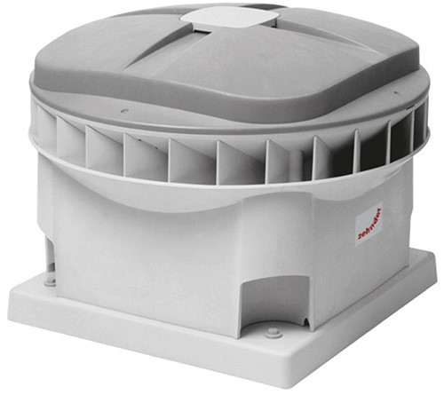 Zehnder - J.E. StorkAir dakventilator MX320D 5649m3/h met werkschakelaar - 400V