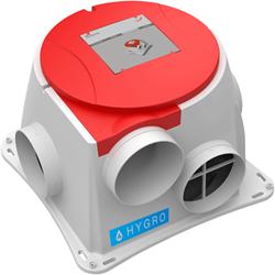 Zehnder ComfoFan S RP Hygro ventilator + vochtsensor + RFT ongvanger - perilex stekker