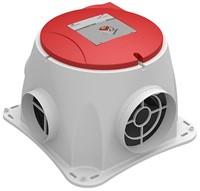 Zehnder Stork Comfofan S R ventilator + RFT ontvanger - euro stekker-1