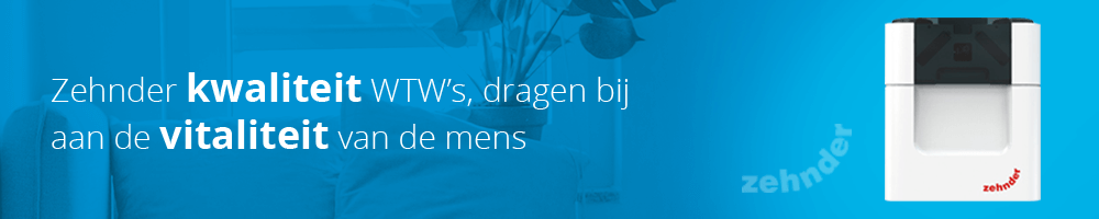 Het hele assortiment Zehnder WTW units vindt u voordelig op Ventilatieland.nl